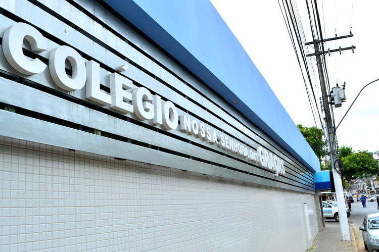 O Colégio Nossa Senhora das Graças, em Olaria (Arquivo AVS)