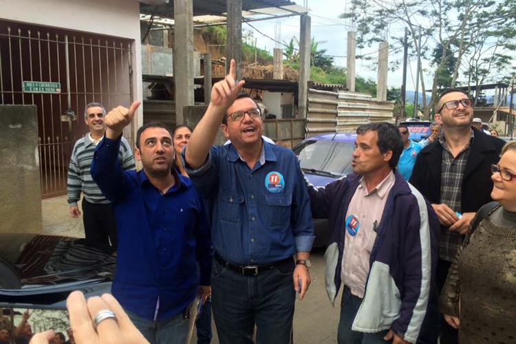 Renato Bravo durante campanha (Foto: Reprodução/Facebook)