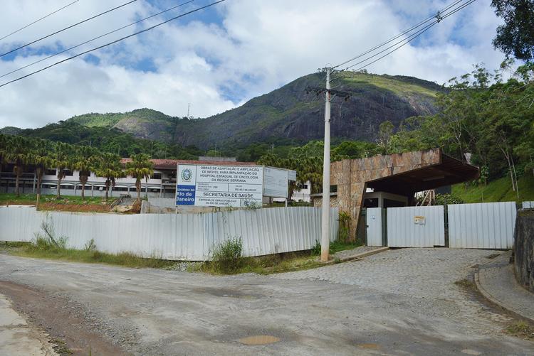 As futuras instalações do Hospital do Câncer (Foto: Henrique Pinheiro)