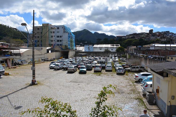 O pátio da Smomu hoje (Fotos: Henrique Pinheiro)
