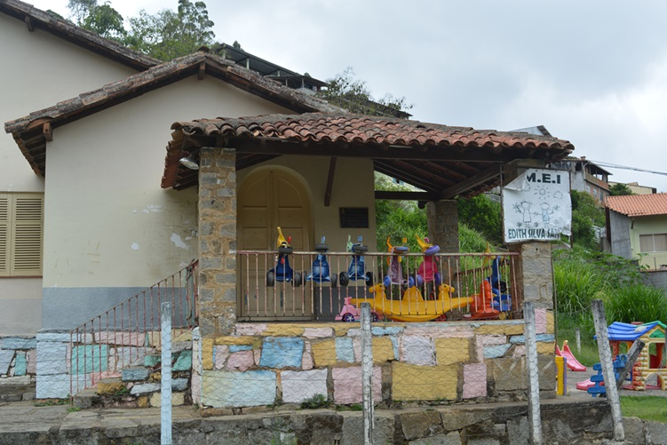 A Creche Municipal Edith Silva Santos, no Parque Maria Teresa (Fotos: Henrique Pinheiro)