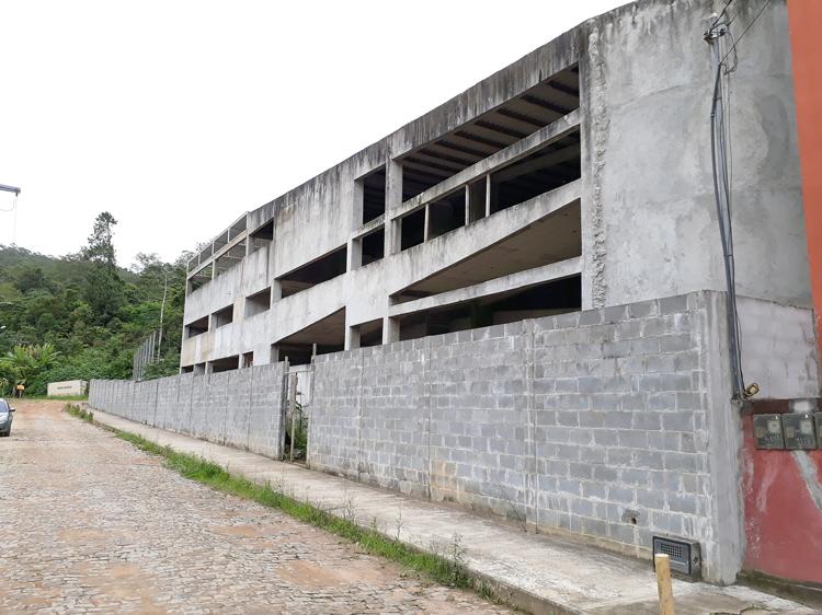 A obra inacabada (Arquivo AVS/ Henrique Pinheiro)