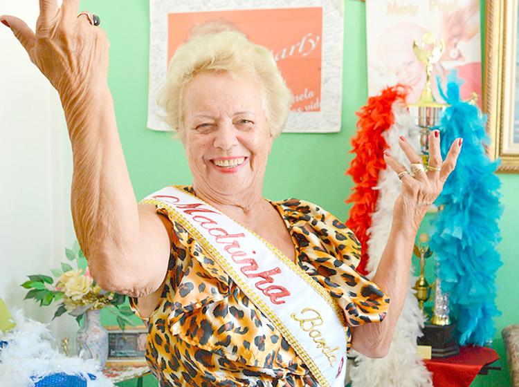 Mulheres que são símbolos do carnaval friburguense