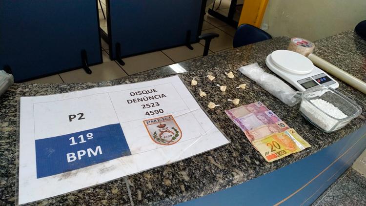 P2 prende acusado de tráfico de drogas em Lumiar
