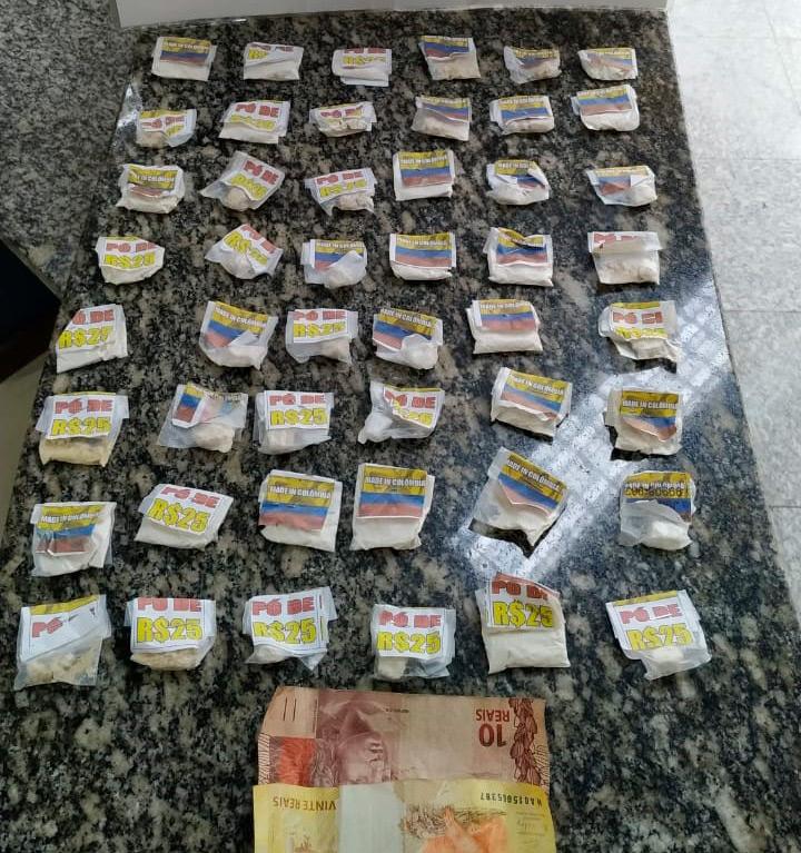 Santo André: a droga  iria abastecer pontos de venda na região