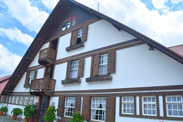 A Casa Suíça, onde também funciona a Queijaria Escola (Fotos: Henrique Pinheiro)