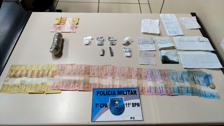 Toda a droga foi encaminhada para ser periciada no Posto Regional de Polícia Técnica e Científica, o PRPTC da Polícia Civil, no bairro Vila Nova