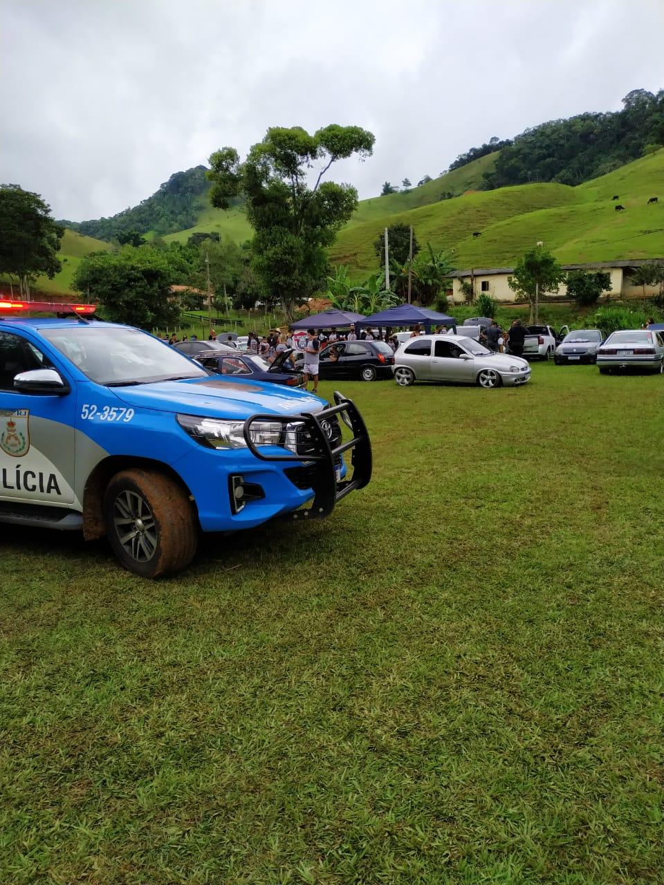 O evento automotivo (Foto: 11 BPM)