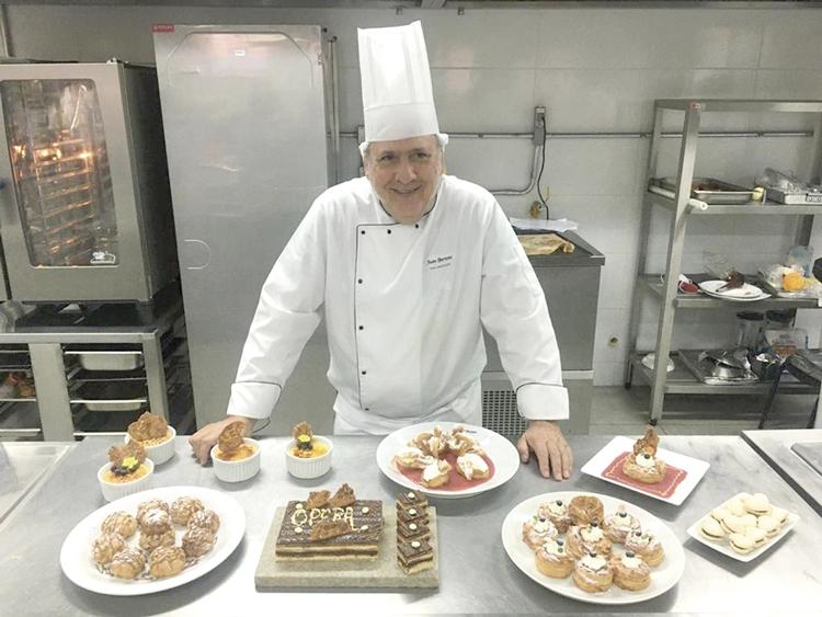 O chef Juan Bertoni
