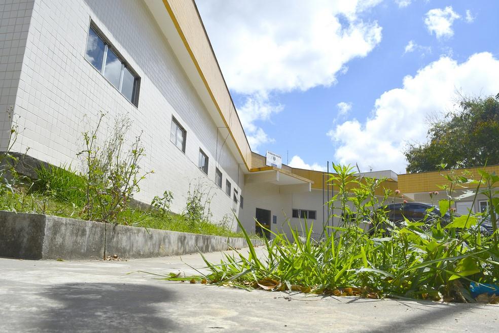 O IML de Nova Friburgo (Foto: Henrique Pinheiro)