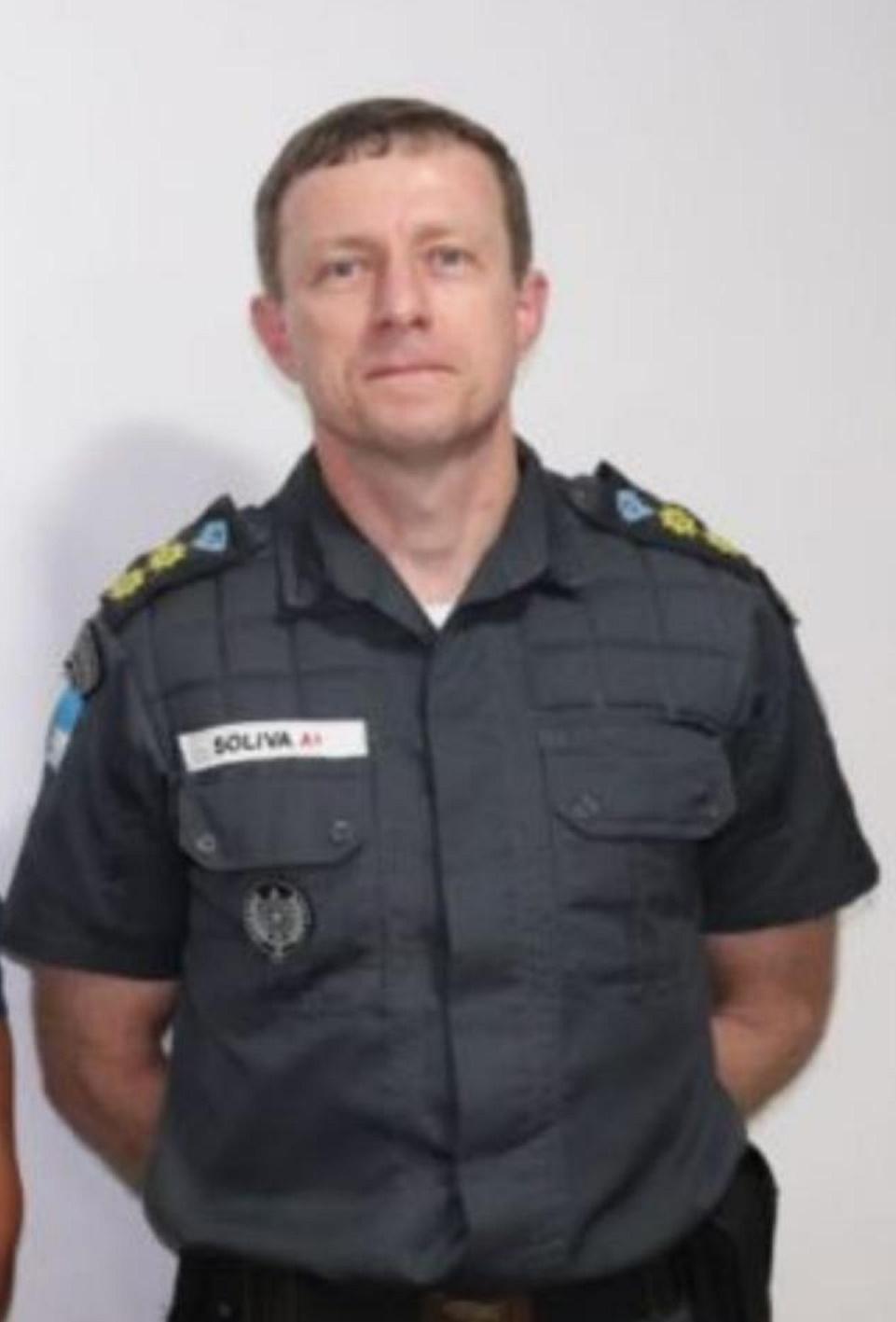 O novo comandante do 11º BPM, Alex Marchito Soliva (Divulgação/PM)