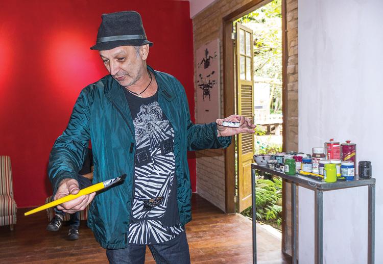 Geová em ação na Galeria KM7 (Fotos: Regina Lobianco)