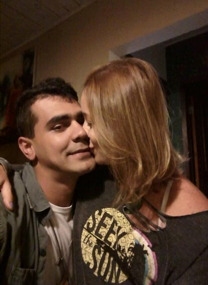 Rodrigo e Alessandra: relacionamento com desfecho trágico (Reprodução da web)