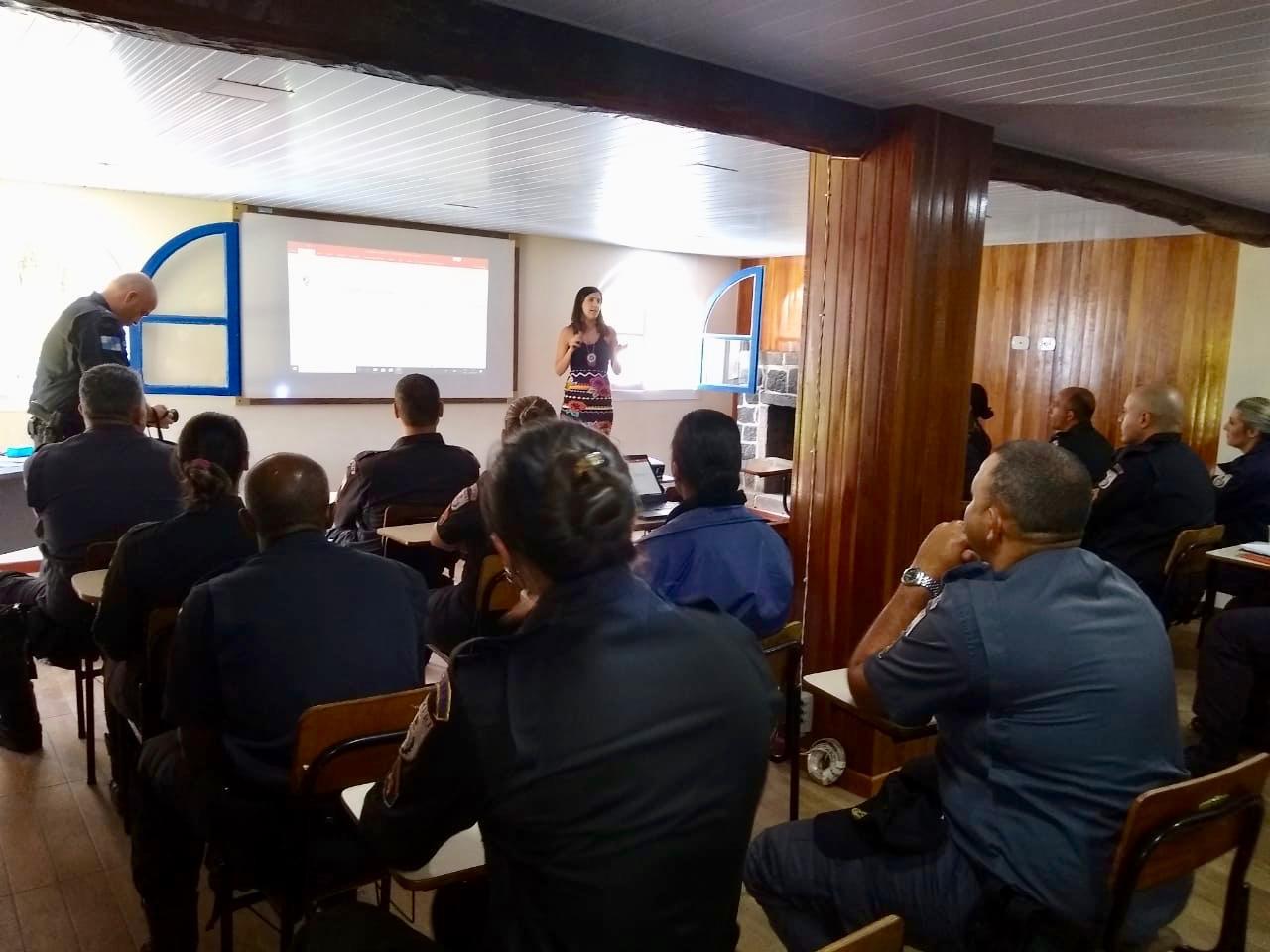 A atividade foi realizada no 7º Comando de Policiamento de Área (CPA), em Teresópolis (Divulgação)