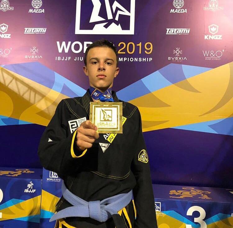 O mais novo troféu obtido nos EUA reforça a vasta galeria do jovem campeão de apenas 16 anos