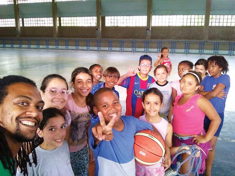 Atividades esportivas na Aldeia da Criança (Divulgação)