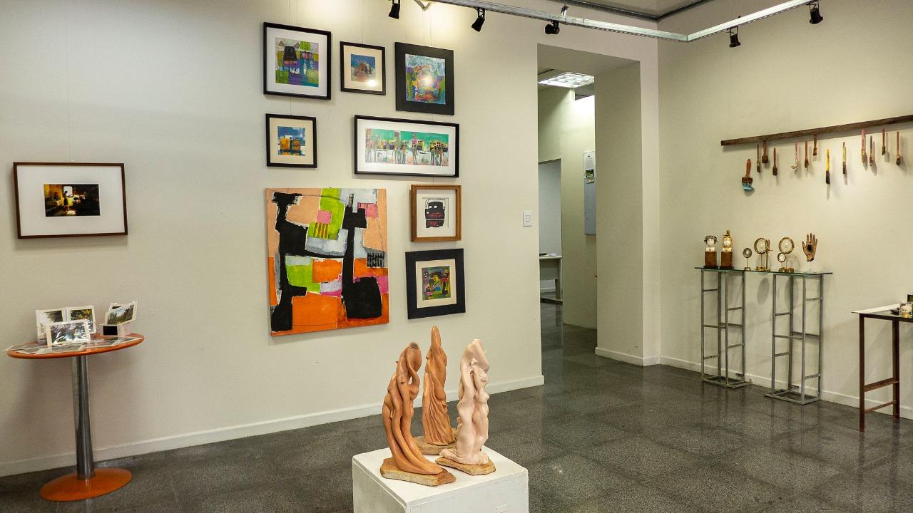 """Exposição """"Natal com Arte"""" em cartaz na Usina Cultural"""