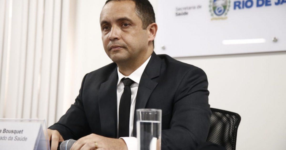 O secretário estadual de Saúde, Alex Bousquet