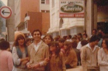 O Bar do Seu Mário: ponto de encontro da juventude friburguense na década de 70 (Arquivo AVS)