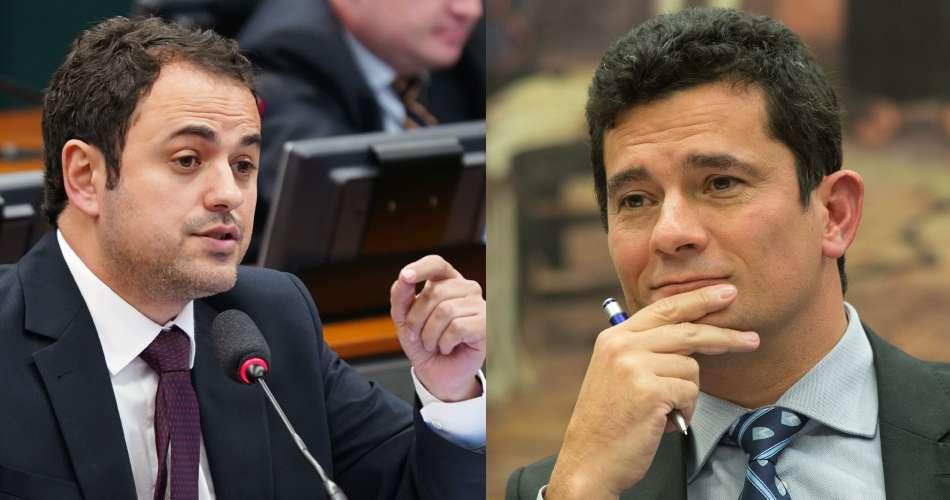 "Glauber Braga chama Moro de ""capanga da milícia de Bolsonaro"""