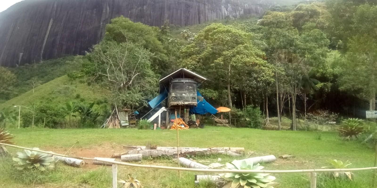 Imóvel construído dentro de uma Área de Preservação Permanente (Foto: UPAm)