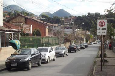 A Rua Sara Braune (Arquivo AVS)