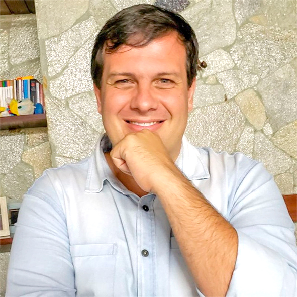 O coach e consultor empresarial Júnior Brunhol