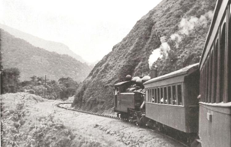 Um passeio de trem por Nova Friburgo