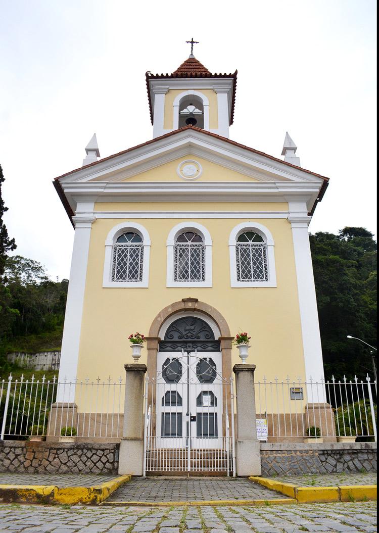 A Capela de Santo Antônio: som de sinos eletrônico, como as mais modernas igrejas do mundo (Fotos: Henrique Pinheiro)