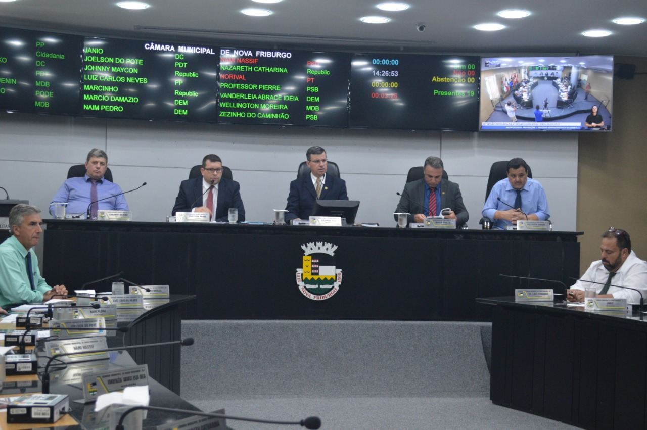 Câmara Municipal convoca seis aprovados do concurso de 2017