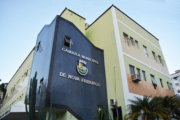 A Câmara de Nova Friburgo (Arquivo AVS/ Henrique Pinheiro)