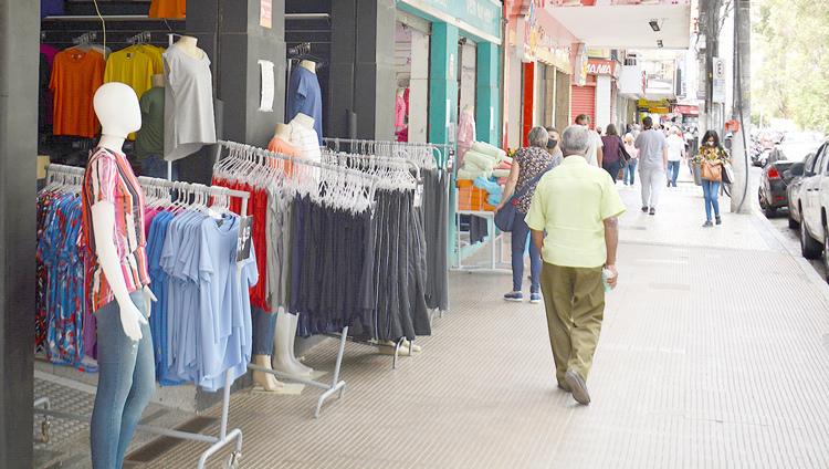 Comércio em Nova Friburgo (Arquivo AVS/ Henrique Pinhiro)