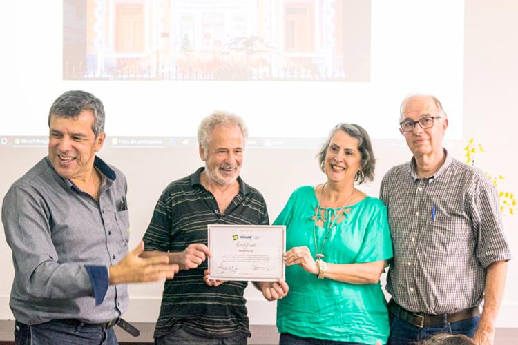 Os vencedores do concurso foram premiados em cerimônia na sede da Acianf (Divulgação)