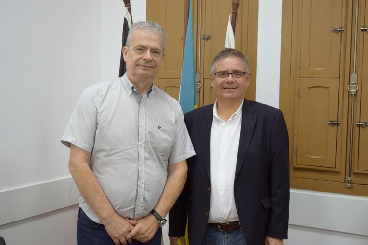 Julio Cordeiro e Flavio Stern (Arquivo AVS)