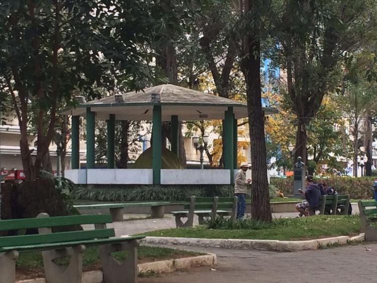 O coreto da Praça Getúlio Vargas (Arquivo AVS)