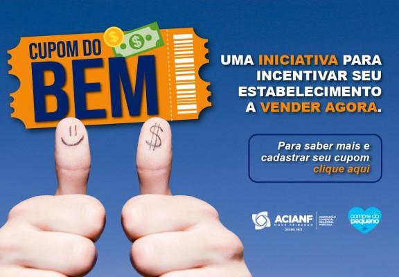 O cartaz da campanha