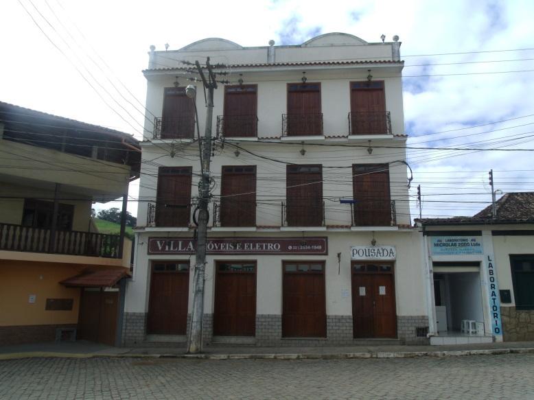 A pousada Solar da Villa:  à disposição do município
