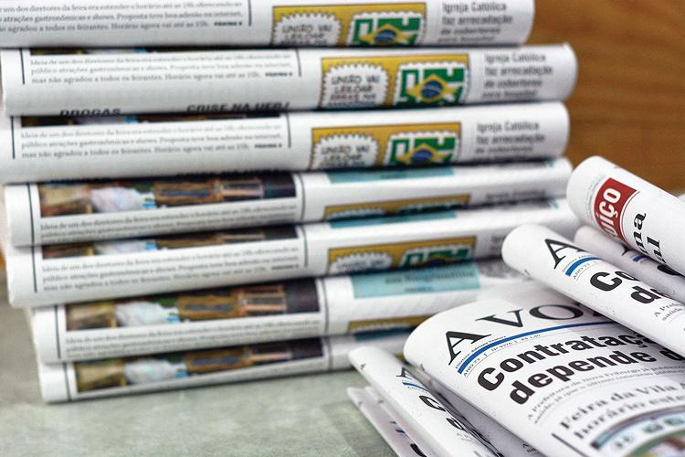 Vitória dos jornais impressos coincidiu com o Dia da Imprensa (Fotos: Henrique Pinheiro)
