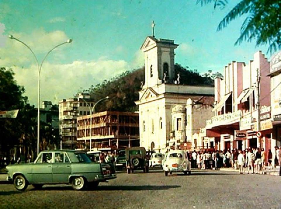 Domingueira no cinema Eldorado no início da década de 70 (Reproduções da página