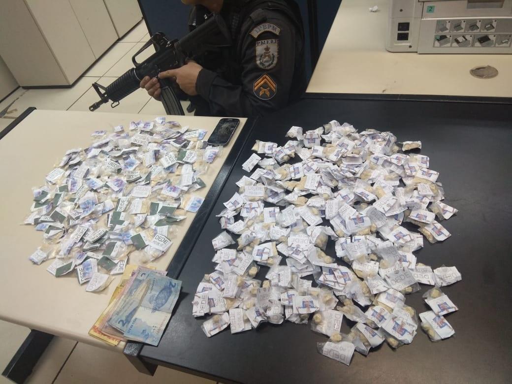 Mais de 500 papelotes de cocaína apreendidos em um só dia