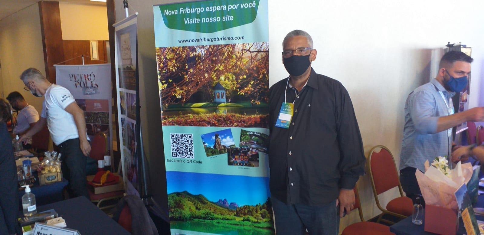 """Edson Almeida no evento """"Rio é de Vocês"""" (Foto: Nova Friburgo Convention & Visitors Bureau )"""