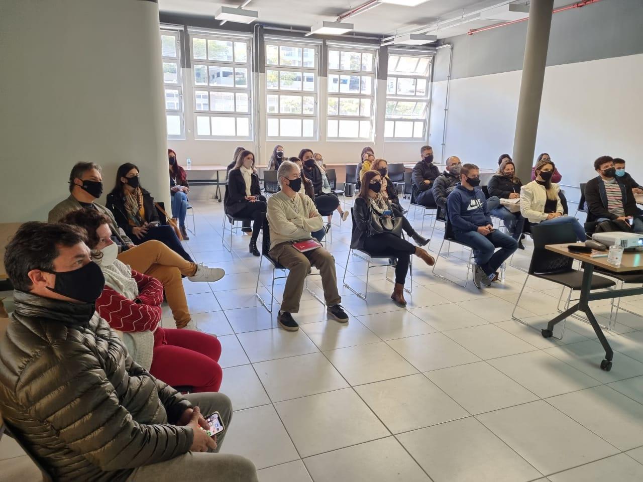 O encontro no núcleo regional do Sebrae, no Espaço Arp (Divulgação)