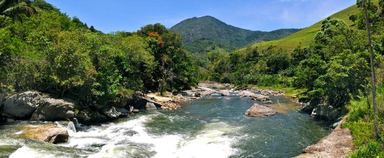 O Encontro dos Rios, em Lumiar, um dos pontos turísticos mais procurados do município (Arquivo AVS/ Henrique Pinheiro)