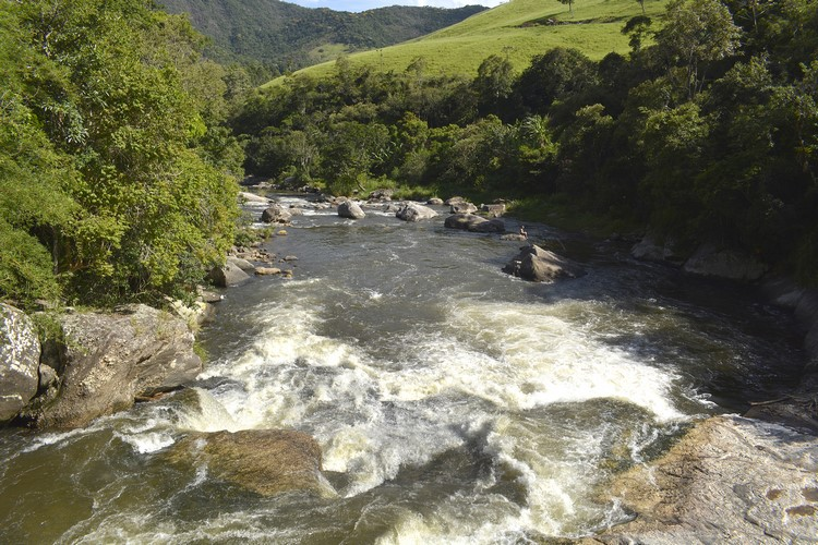O Encontro dos Rios, ponto turístico da região de Lumiar e São Pedro da Serra (Arquivo AVS)