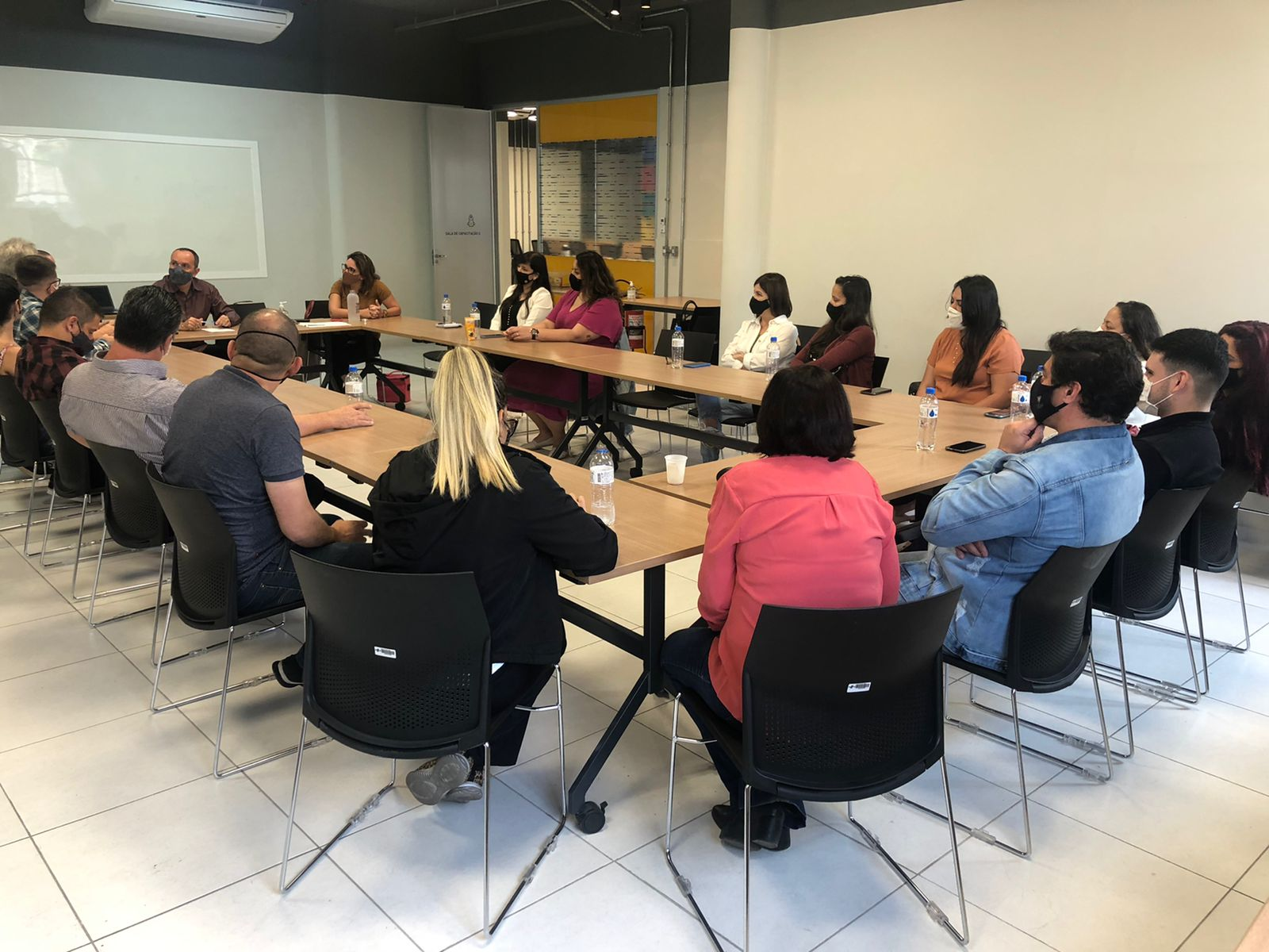 O  11º encontro do projeto, iniciado na Fevest (Divulgação)