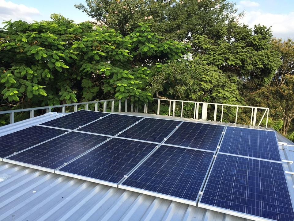 Painéis de energia solar (Arquivo AVS)