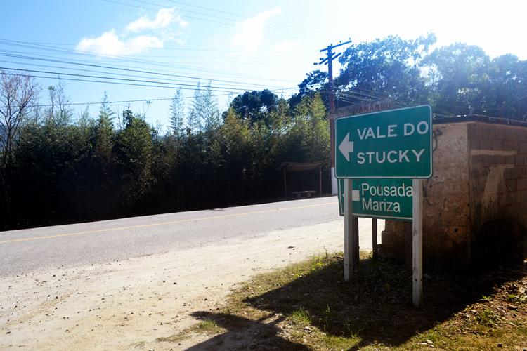 A entrada do Stucky (Foto: Henrique Pinheiro)