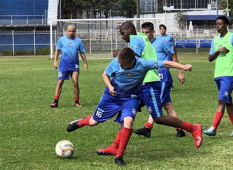 Friburguense passou as últimas duas semanas treinando para a disputa da Taça Rio