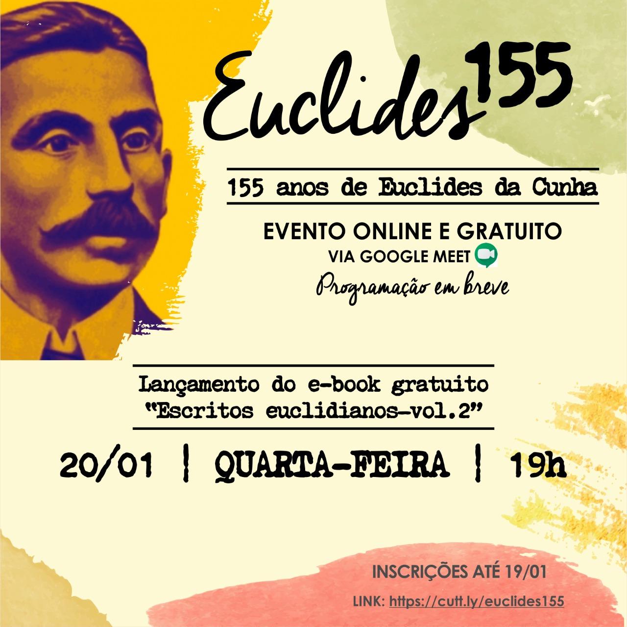 O cartaz do evento virtual