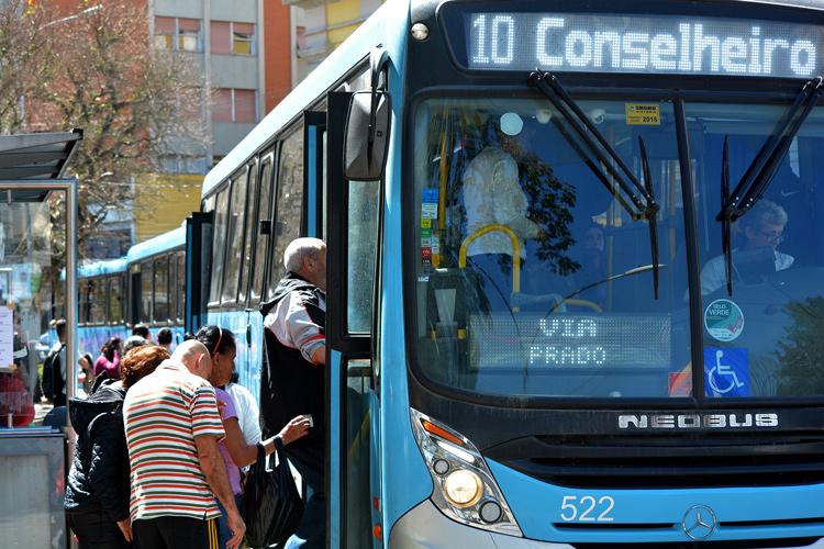 Transporte público em Nova Friburgo (Arquivo AVS)